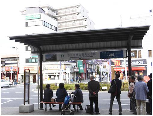 下総中山駅バス乗り場